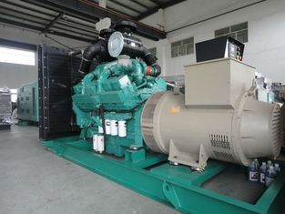 Three Phase Cummins Diesel Generator , 380V Water Cooled 3 mw Generator