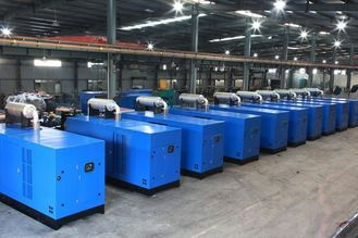 China Water Cooled diesel power generator , perkins generator set with Digital auto start panel supplier
