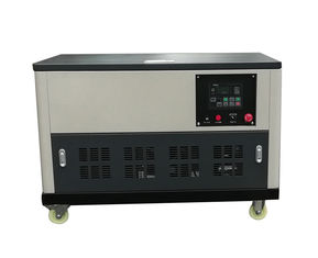 China Super soundproof 25kw portable gasoline generator with petrol water cooling engine power supplier