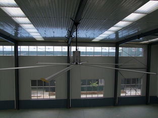 China 24feet Large HVLS big ass Industrial Ceiling Fan For Warehouse Nord motor 1.5kw supplier