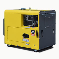 China Single Phase Portable Gasoline Generator Silent 3kVA 5kva 3000rpm Air Cooled supplier