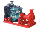 China Electric start diesel engine fire pump water 100 hp High pressure 6 inch suction 50m head factory