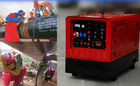 China Silent 45 - 430A Diesel Compact Welder Generator For TIG Process Aux Power 30kw factory