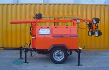 5kva - 25kva Portable Light Tower Generator With Kubot / Perkins Engine