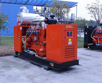 buy 50kw - 500kw Water Cooled Biogas Generator , Biogas Generator Kit CE Approved online manufacturer