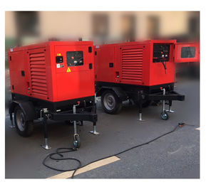 China 500Amps MMA / TIG Wdiesel Generator Welding Machiner IP23 10kva Mobile Trailer factory