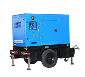 China Mobile 85-175kva Perkins Diesel Generator Power Plant Delixi Breaker 4 Poles factory