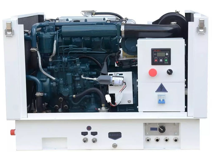 Portable 5kw Marine Diesel Generator For Yacht Single Phase Sea Water Cooled 1